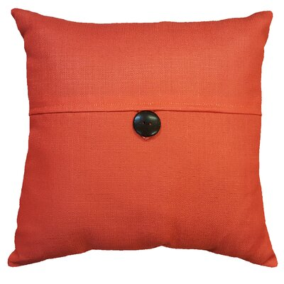 Thornhill Outdoor Throw Pillow Color: Coral
