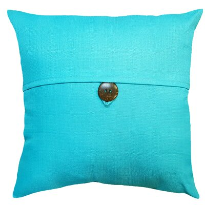 Thornhill Outdoor Throw Pillow Color: Turquoise