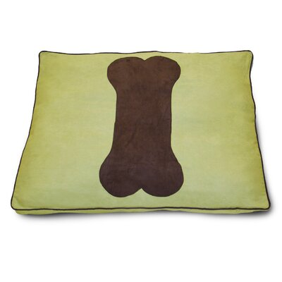 Dog Bone Dog Pillow Color: Sweetpea