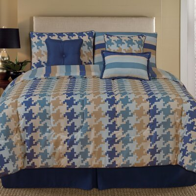Pixel 7 Piece Comforter Set Size: Queen