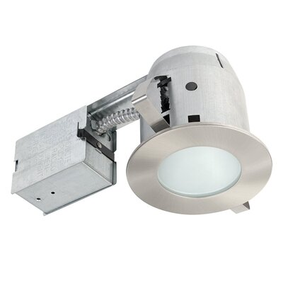 Bathroom 4 Recessed Lighting Kit Finish: Brushed Nickel