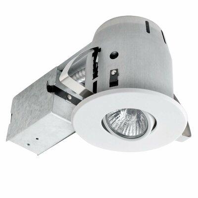 Swivel 4 Recessed Lighting Kit Finish: White