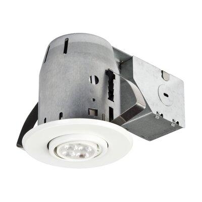 IC Rated Swivel Spotlight 3 Recessed Lighting Kit