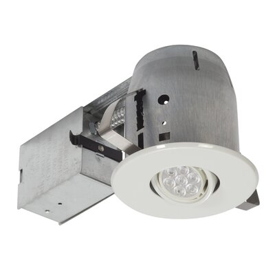 LED IC Rated Swivel Spotlight Recessed Housing