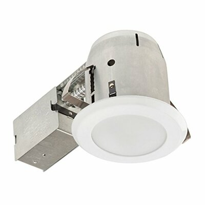 IC Rated Shower Lens 4 LED Recessed Lighting Kit