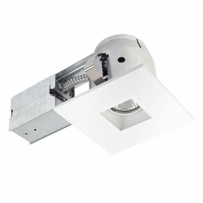 Integrated IC Rated Swivel Spotlight Square 4