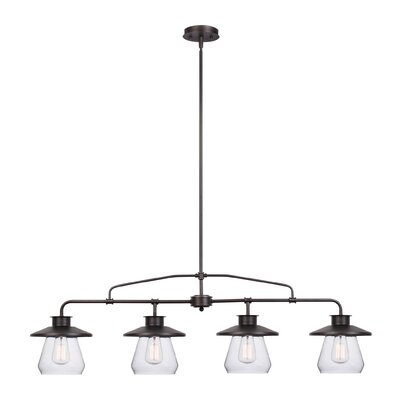 Angelina 4-Light Kitchen Island Pendant