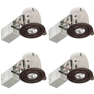 Aline Swivel Round 3 LED Recessed Lighting Kit