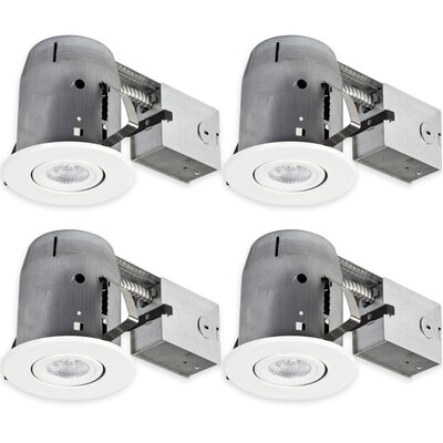 Aline Swivel Round 5 LED Recessed Individual Spotlight