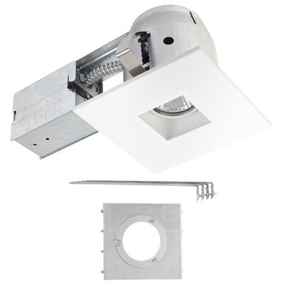 IC Rated 4 LED Recessed Lighting Kit