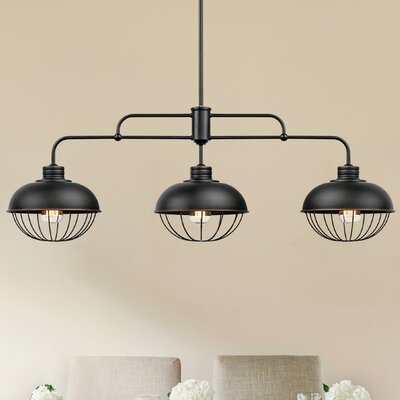 Elior 3-Light Bowl Pendant