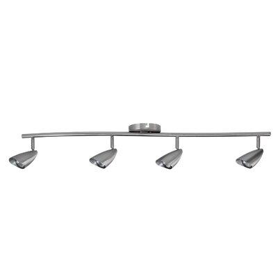 4-Light Adjustable Full Track Lighting Kit