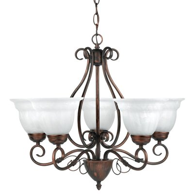 Beatrice 5-Light Shaded Chandelier