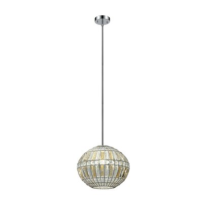 Arya 1-Light Globe Pendant