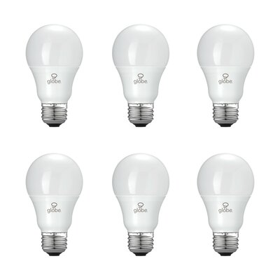 60W Equivalent Soft White (3000K) A19 LED Light Bulb