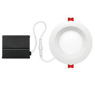 4 Integrated Ultra Slim Baffle LED Recessed Lighting Kit