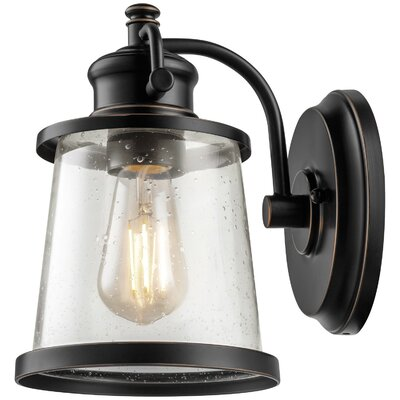 Charlie 1-Light Outdoor Wall Sconce