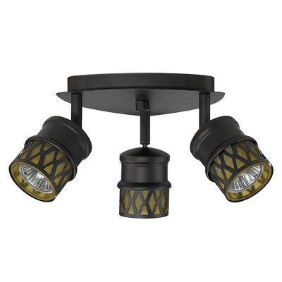Kearney 3-Light Canopy Semi Flush Mount