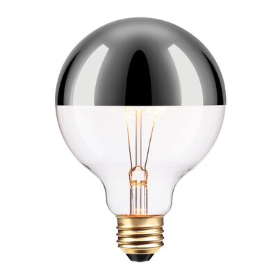 40W Amber 26/Medium Incandescent Light Bulb