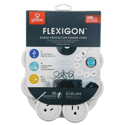 Flexigon Protector Power Strip Cord and Cable