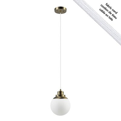 Rosemont 1-Light Globe Pendant