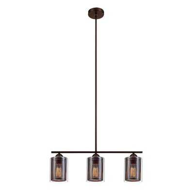 Rocha 3-Light Kitchen Island Pendant