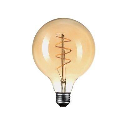 40W Amber E26/Medium (Standard) LED Vintage Filament Light Bulb