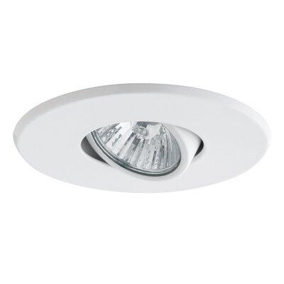 4 LED Recessed Trim Finish: White