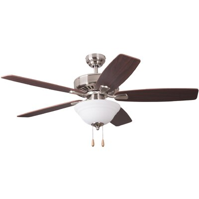 52 Wolcott Indoor 5 Blade Ceiling Fan with Remote
