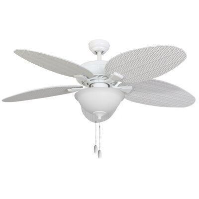 52 Jaylee Indoor 5 Blade Ceiling Fan with Remote