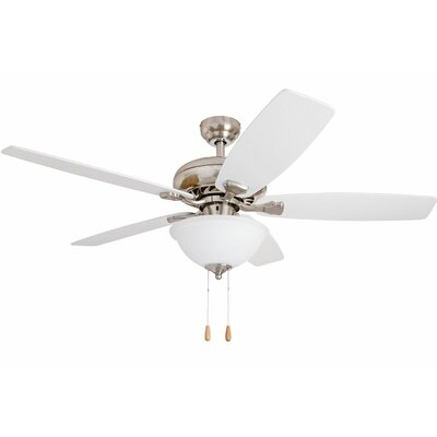 52 Fletcher Indoor 5 Blade Ceiling Fan with Remote