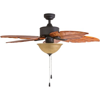 "52"" St. Marks Bowl Light 5-Blade Ceiling Fan"