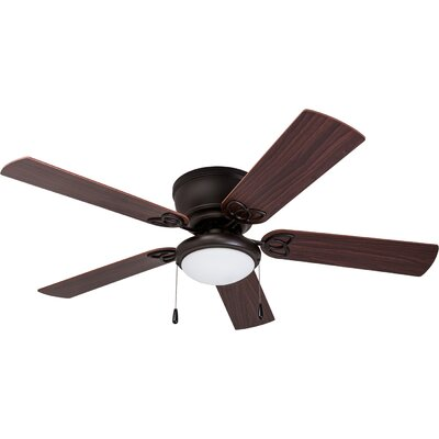 52 Bories 5 Blade LED Ceiling Fan Finish: Bronze