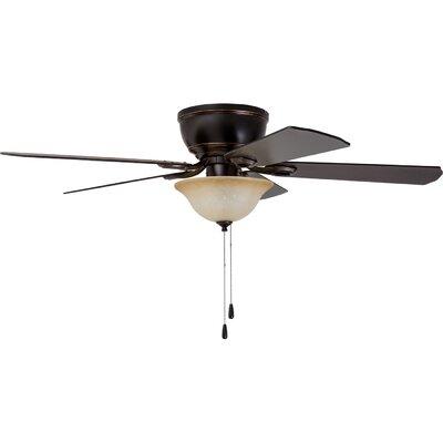 52 Crumbley 5 Blade LED Ceiling Fan Finish: Bronze
