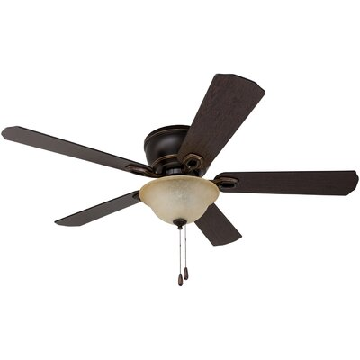 52 Espinosa 5 Blade LED Ceiling Fan with Remote Control Finish: Oil Rubbed Bronze