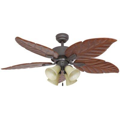 52 St. Marks 4-Light 5-Blade Ceiling Fan