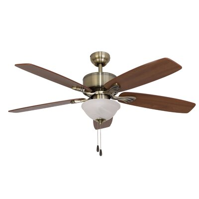 "52"" Northport Bowl Light 5-Blade Ceiling Fan"