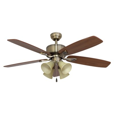 52 Northport 4-Light 5-Blade Ceiling Fan