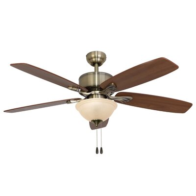 52 Northport Bowl Light 5-Blade Ceiling Fan