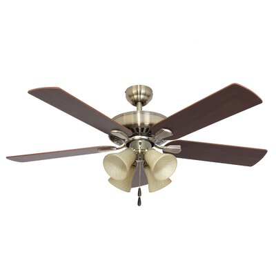 "52"" Bartlett 4-Light 5-Blade Ceiling Fan"