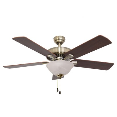 52 Bartlett Bowl Light 5-Blade Ceiling Fan