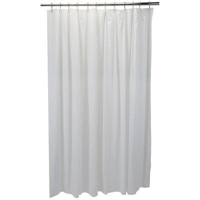 6 Gauge Shower Liner Color: White