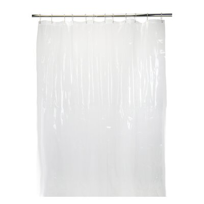 6 Gauge Shower Liner Color: Clear