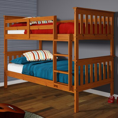 Donco Twin Bunk Bed Finish: Honey