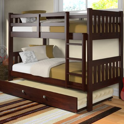 Washington Twin over Twin Bunk Bed with Trundle