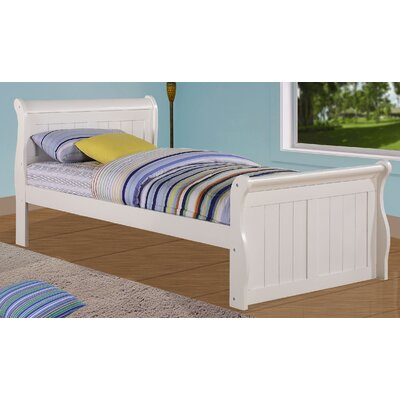 Sleigh Bed Size: Twin