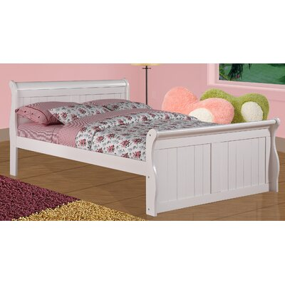 Sleigh Bed Size: Full