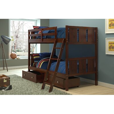 Twin Standard Bunk Bed with Storage