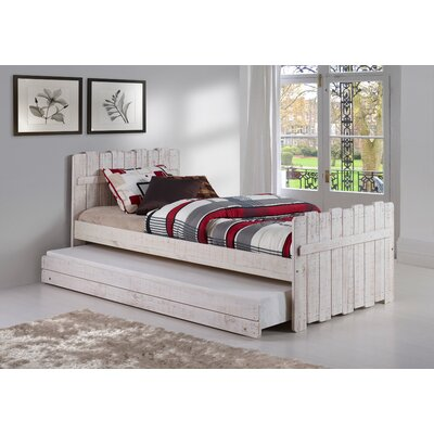 Tree House Twin Panel Bed with Trundle