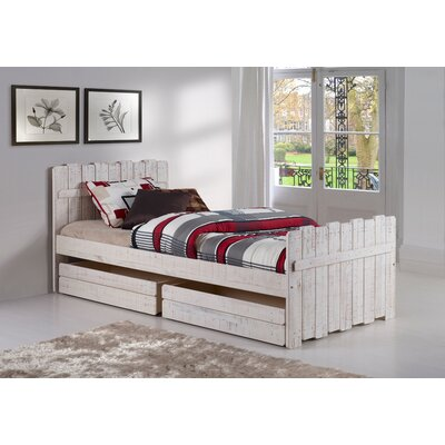 Tree House Twin Panel Bed with Storage
